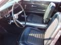 1966 Ford Mustang Black Interior Front Seat Photo