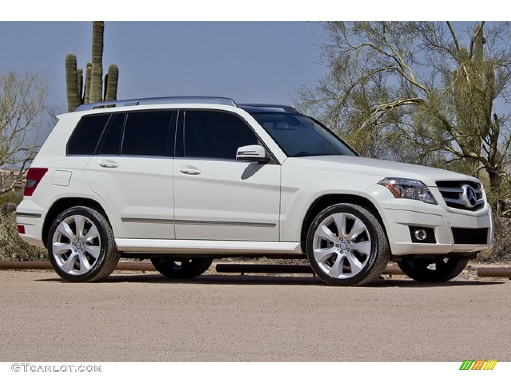 Arctic white 2010 mercedes benz glk 350 4matic exterior for 2010 mercedes benz glk
