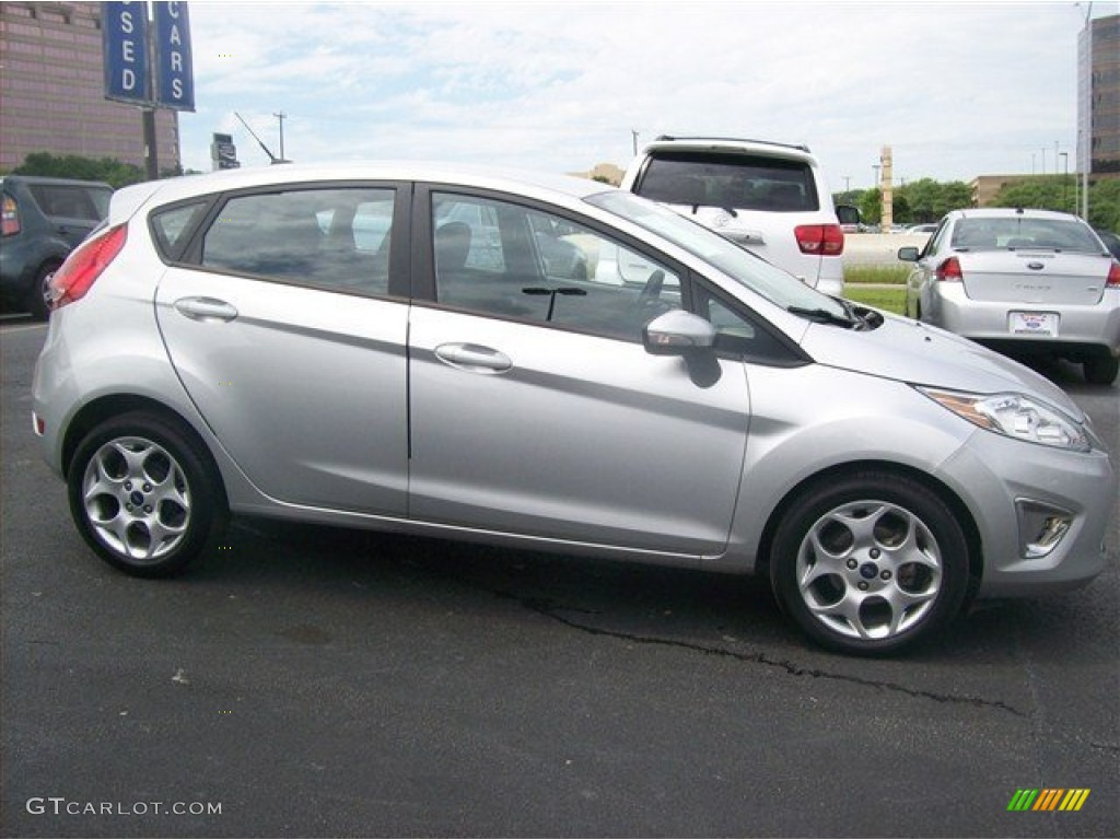 Ford Fiesta Sfe Ingot Silver Metallic 2011 Ford Fiesta SES Hatchback Exterior Photo ...