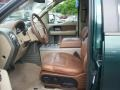 Front Seat of 2008 F150 King Ranch SuperCrew 4x4