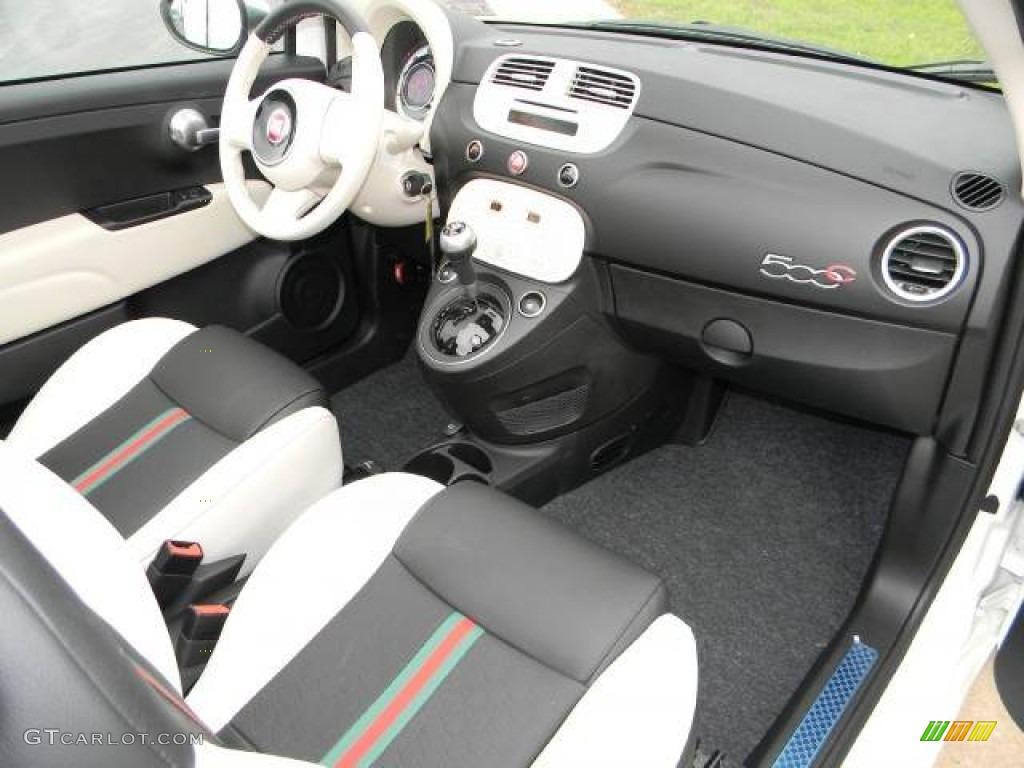 2012 fiat 500 c cabrio gucci 500 by gucci nero black. Black Bedroom Furniture Sets. Home Design Ideas