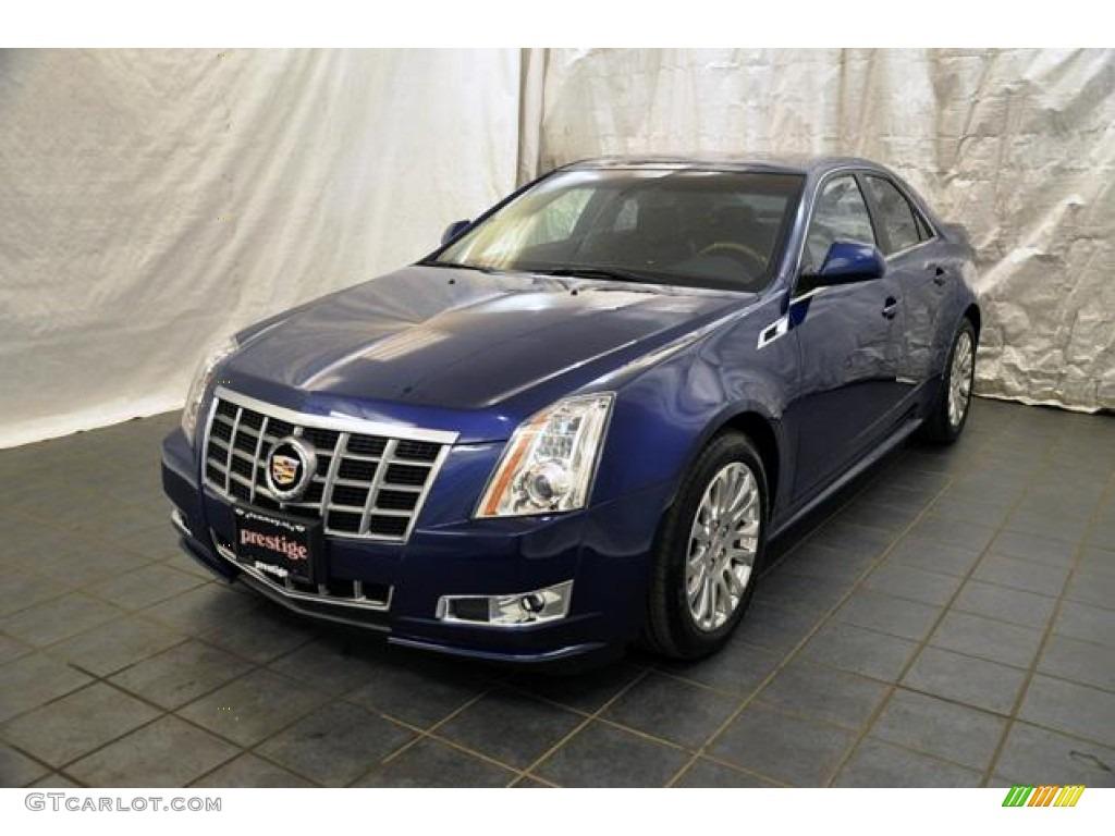 2012 Opulent Blue Metallic Cadillac Cts 4 3 6 Awd Sedan