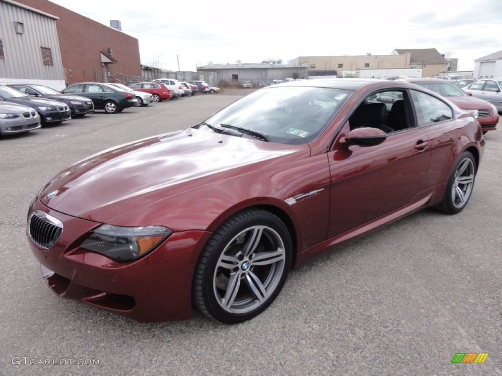 indianapolis red metallic 2006 bmw m6 coupe exterior photo. Black Bedroom Furniture Sets. Home Design Ideas