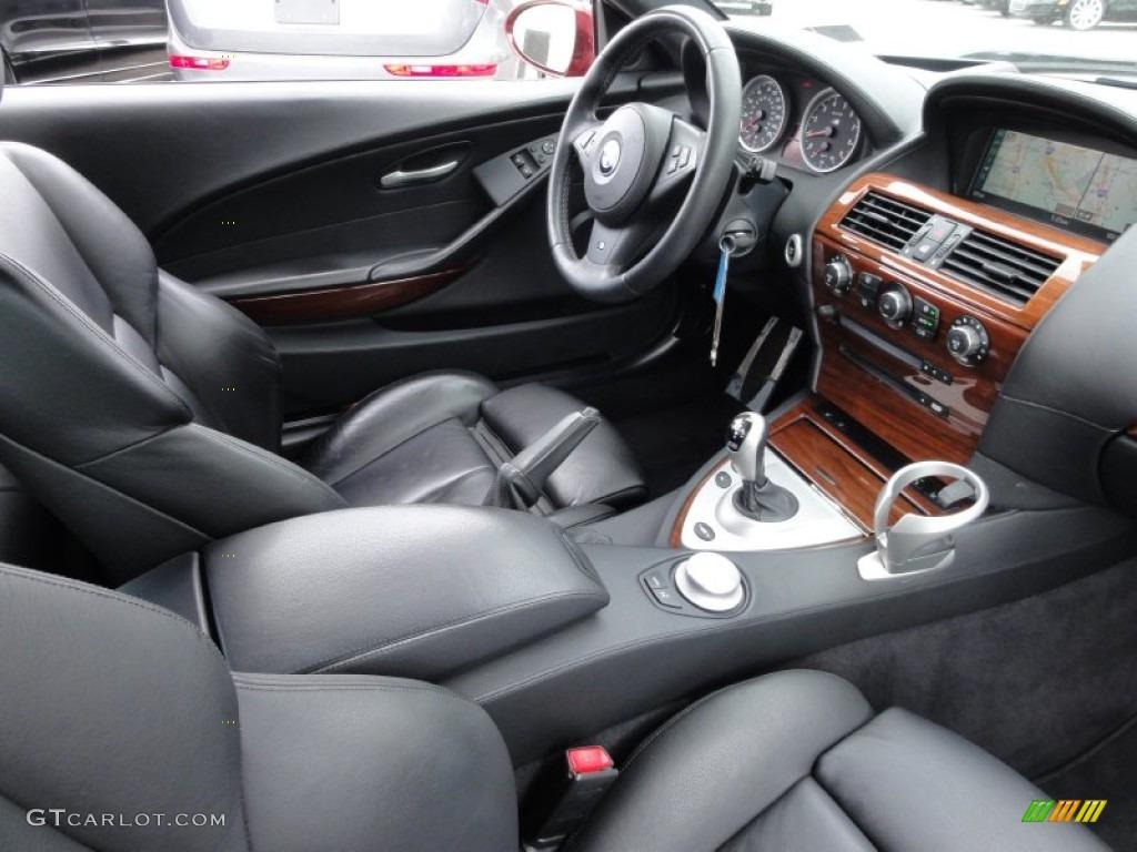Black Interior 2006 Bmw M6 Coupe Photo 63084224 Gtcarlot Com