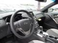 Gray Leather/Gray Cloth Dashboard Photo for 2013 Hyundai Genesis Coupe #63089936