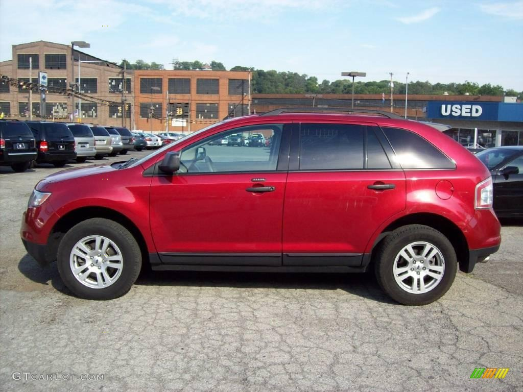 2008 Ford Edge Exterior Colors