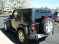 2011 Natural Green Pearl Jeep Wrangler Sahara 4x4  photo #6