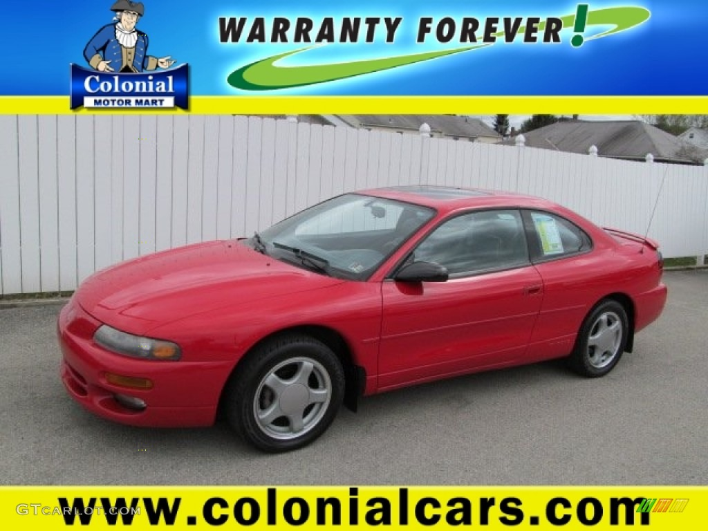 1996 flame red dodge avenger es coupe 63101504 gtcarlot. Black Bedroom Furniture Sets. Home Design Ideas