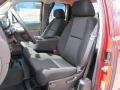2012 Chevrolet Silverado 1500 Dark Titanium Interior Front Seat Photo