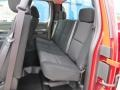 Rear Seat of 2012 Silverado 1500 Work Truck Extended Cab 4x4