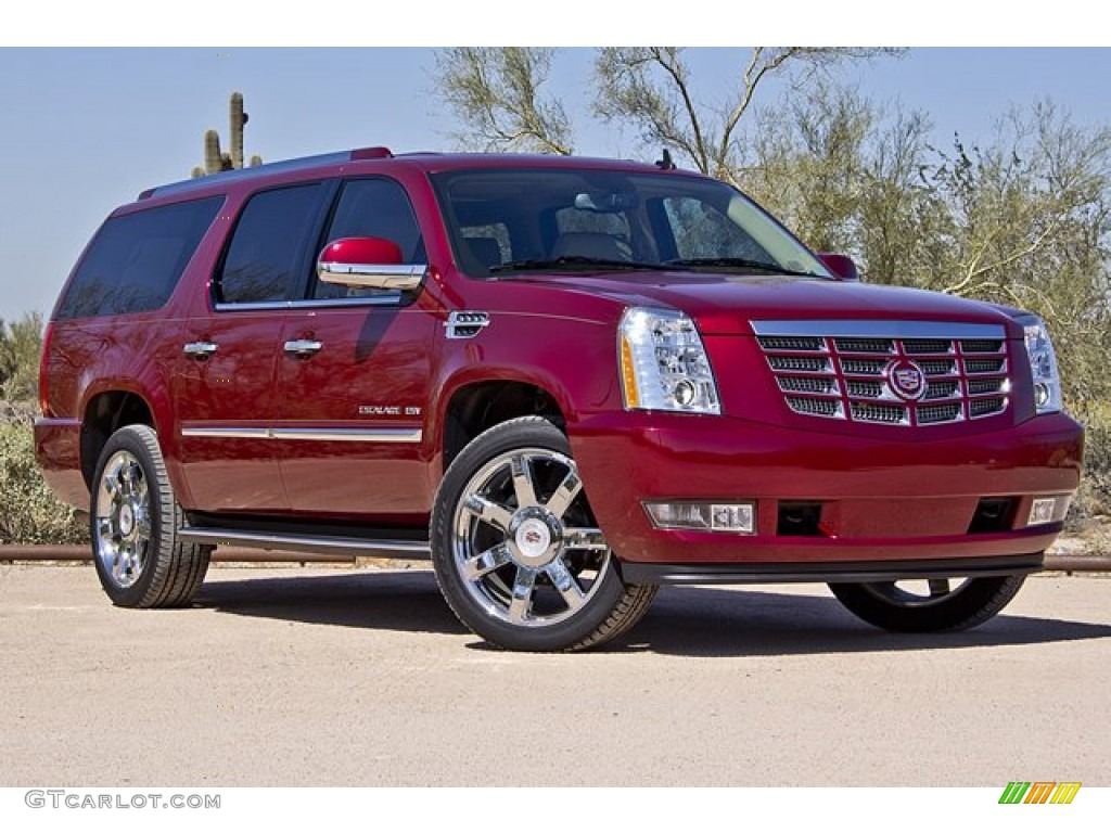 infrared tincoat 2011 cadillac escalade esv luxury awd. Black Bedroom Furniture Sets. Home Design Ideas