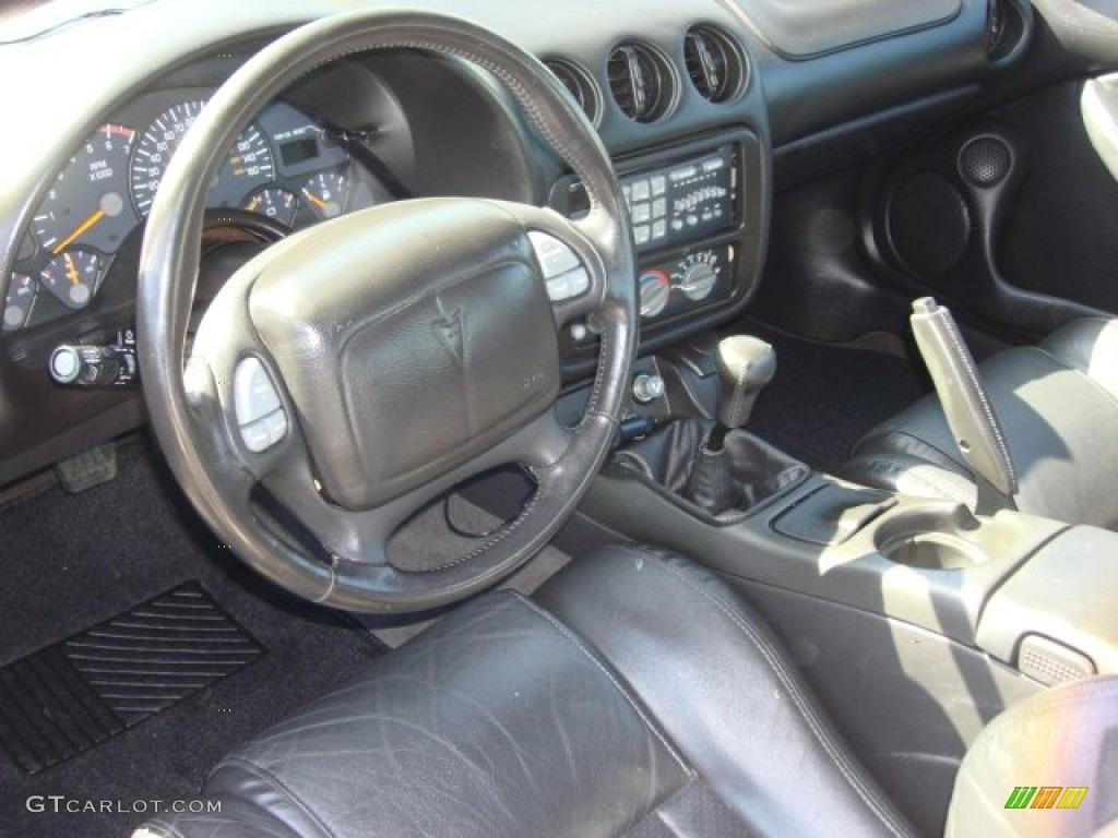 Ebony Interior 2000 Pontiac Firebird Trans Am Coupe Photo 63116516