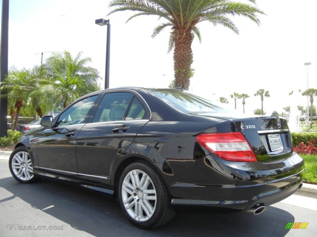 Black 2009 mercedes benz c 300 luxury exterior photo for 2009 mercedes benz c 300