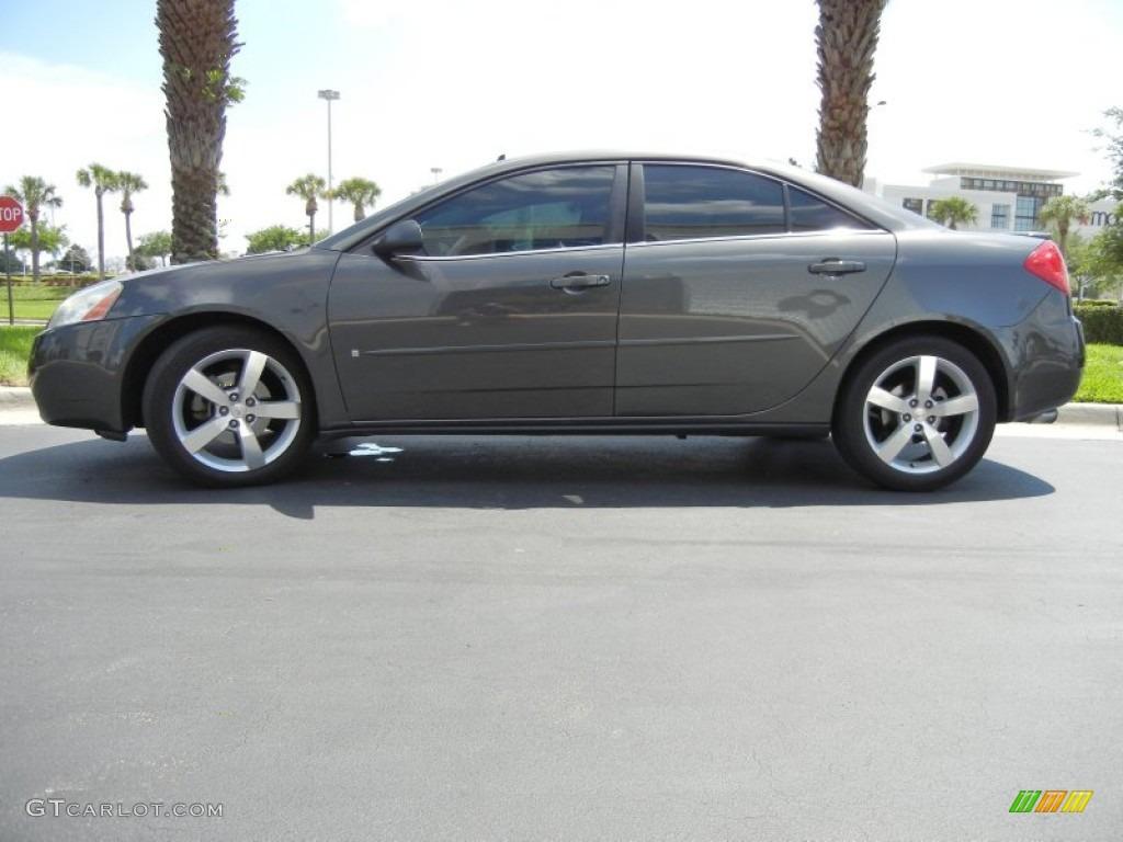Dark Steel Gray Metallic 2007 Pontiac G6 Gtp Sedan Exterior Photo 63123998 Gtcarlot Com