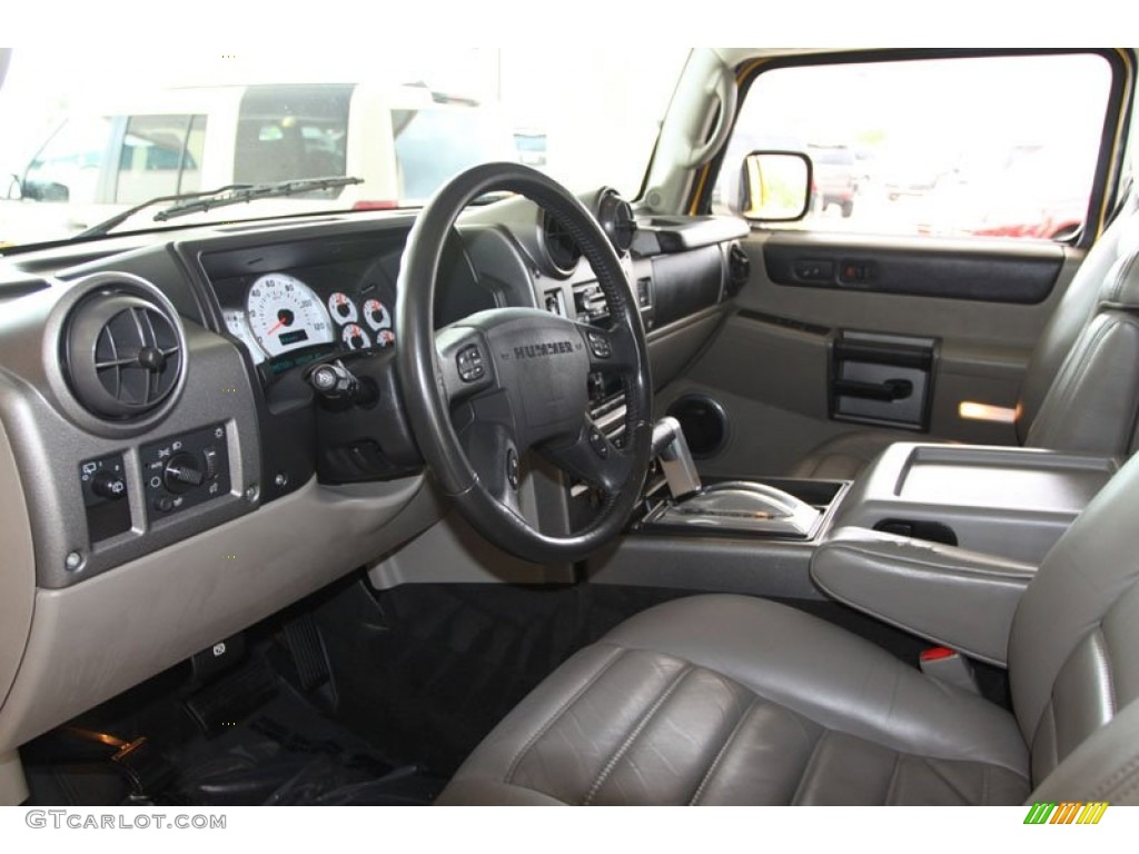 Black Interior 2003 Hummer H2 Suv Photo 63134896
