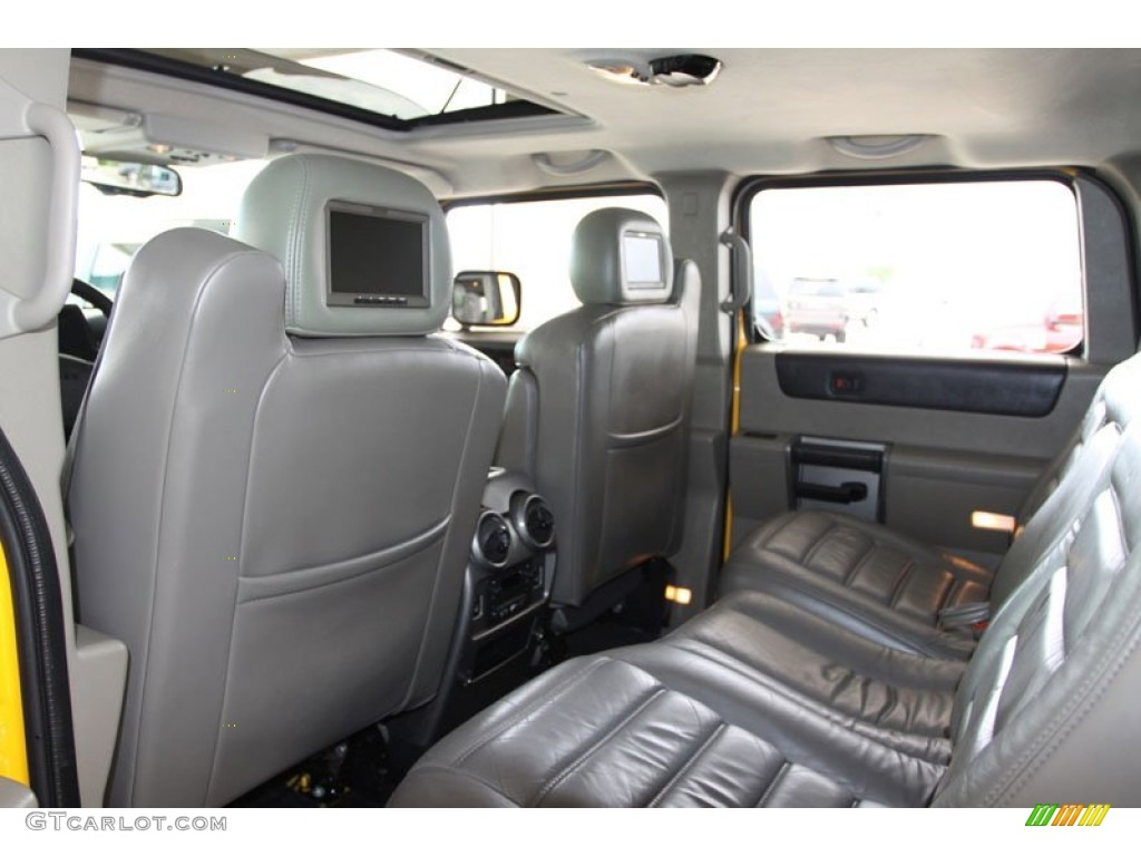 Black Interior 2003 Hummer H2 Suv Photo 63135007