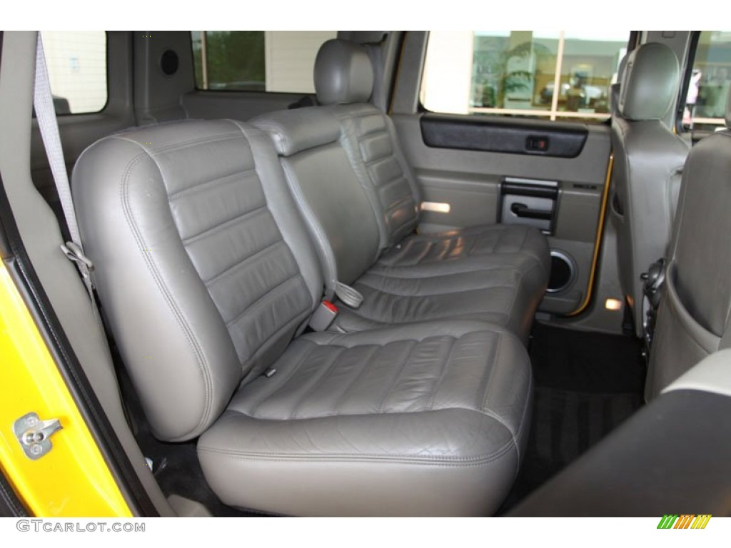 Black Interior 2003 Hummer H2 Suv Photo 63135280