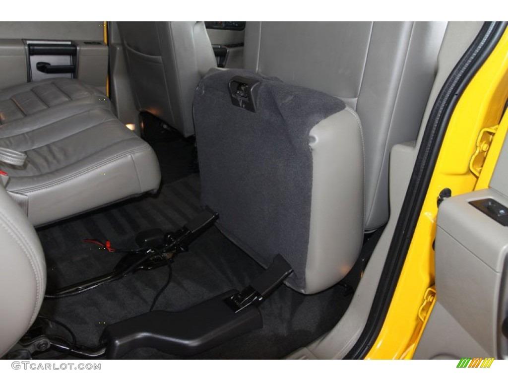 Black Interior 2003 Hummer H2 Suv Photo 63135289