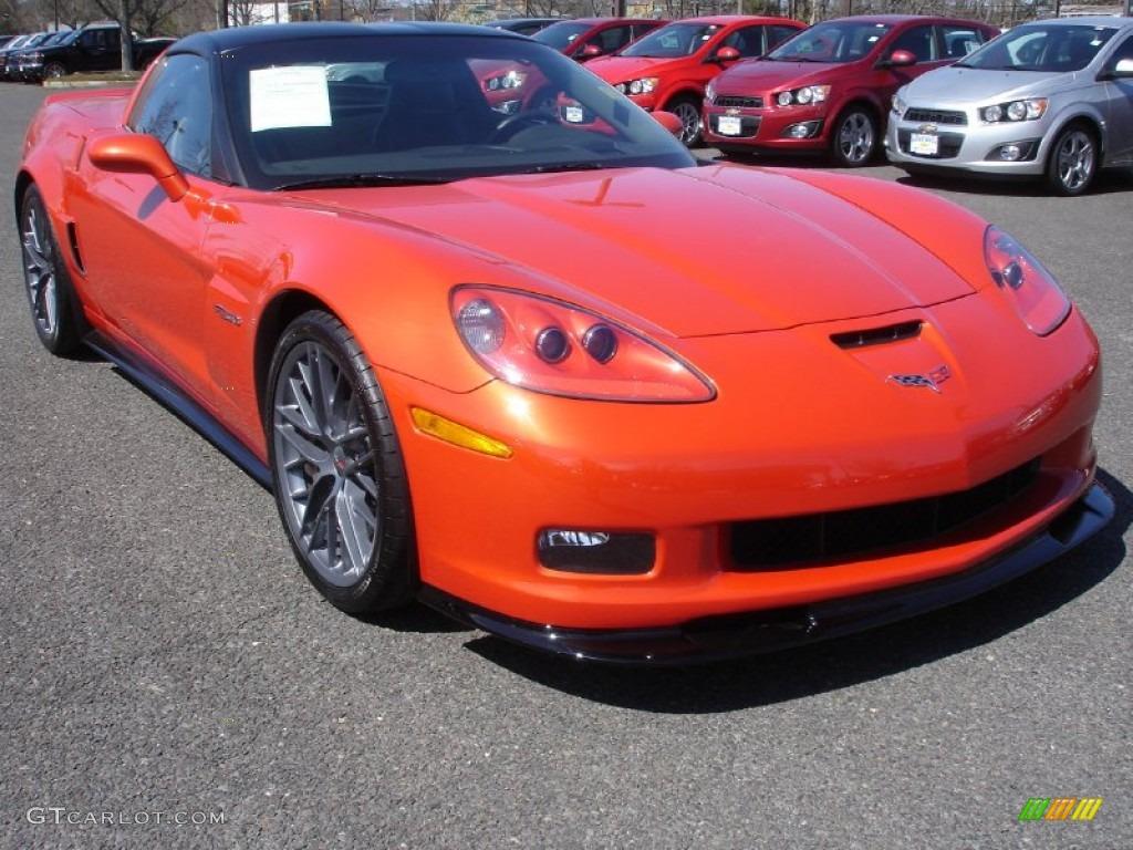 Inferno orange metallic 2011 chevrolet corvette z06 exterior photo 63144601 gtcarlot com