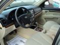 Beige 2007 Hyundai Santa Fe Interiors