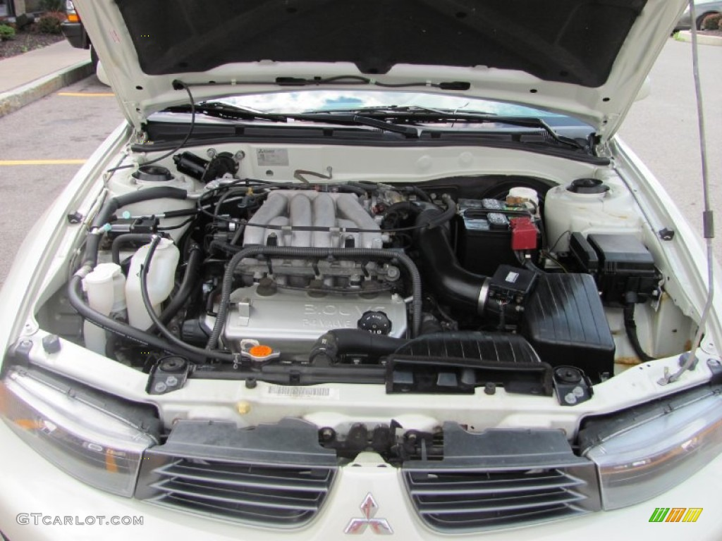 2003 Mitsubishi Galant ES 30 Liter SOHC 24 Valve V6 Engine Photo