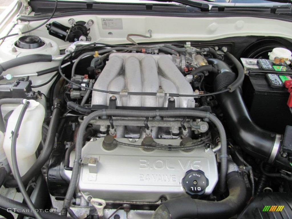 2003 Mitsubishi Galant ES 3.0 Liter SOHC 24 Valve V6 Engine Photo #63148273 | GTCarLot.com
