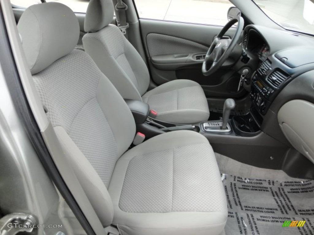 2004 Nissan Sentra Interior Dimensions