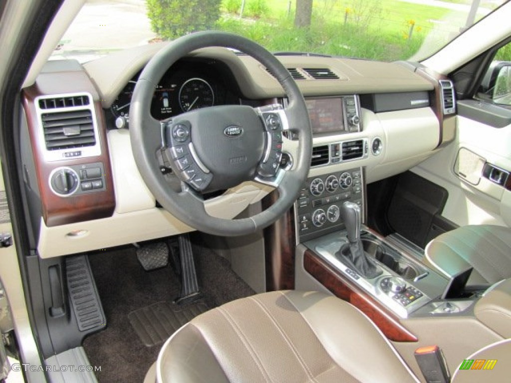 arabica brown ivory white interior 2010 land rover range rover hse photo 63152578. Black Bedroom Furniture Sets. Home Design Ideas