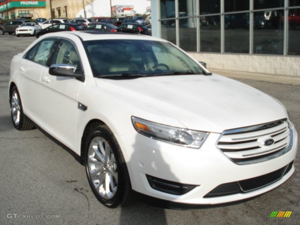white platinum tri coat 2013 ford taurus limited awd exterior photo 63154147. Black Bedroom Furniture Sets. Home Design Ideas