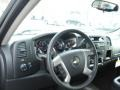 2012 Mocha Steel Metallic Chevrolet Silverado 1500 LT Extended Cab 4x4  photo #10