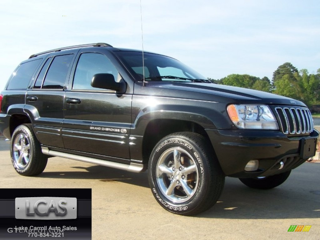 2002 Black Jeep Grand Cherokee Overland 4x4 63101219 Car Color Galleries