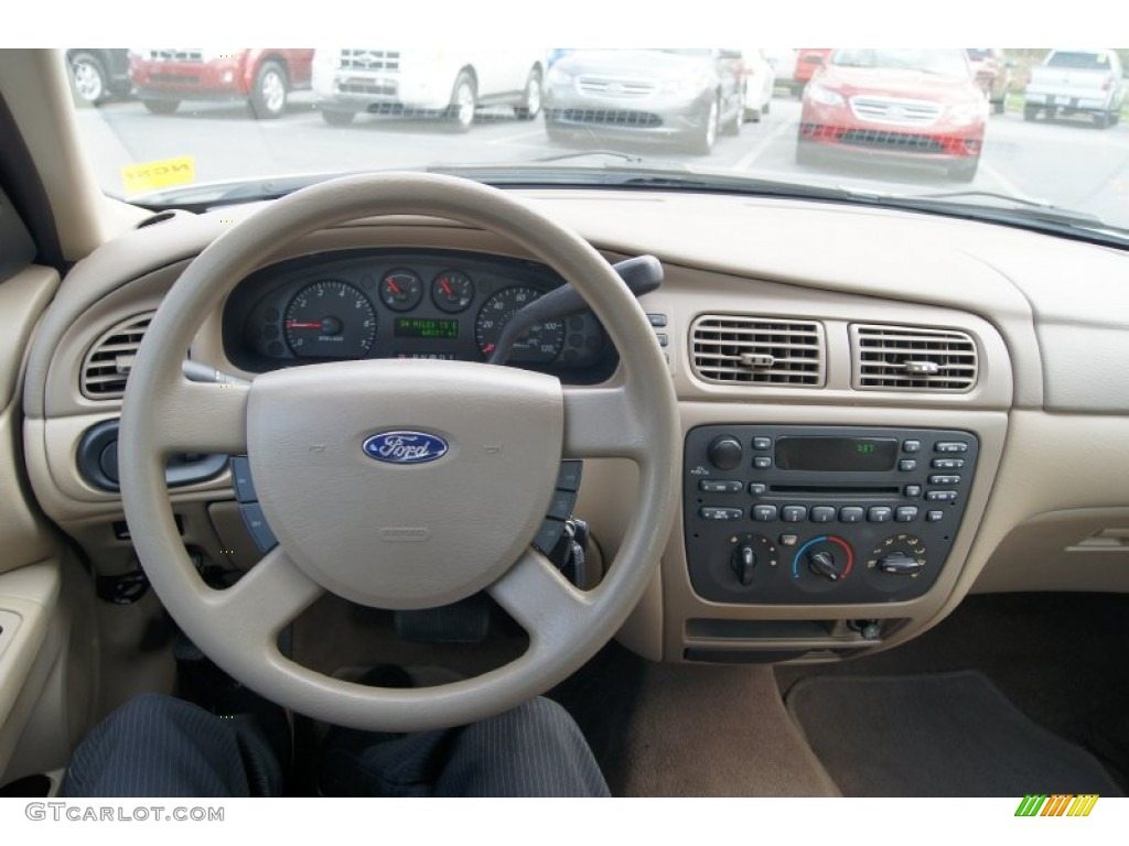 2005 ford taurus se medium  dark pebble dashboard photo