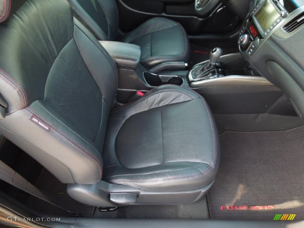 Black Sport Interior 2011 Kia Forte Koup Sx Photo 63162292
