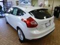 2012 White Platinum Tricoat Metallic Ford Focus SEL 5-Door  photo #4