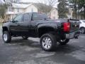 2012 Black Chevrolet Silverado 1500 LT Extended Cab 4x4  photo #7