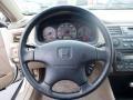 Ivory Steering Wheel Photo for 2002 Honda Accord #63174256