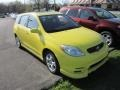 2004 Solar Yellow Toyota Matrix XR #63169563
