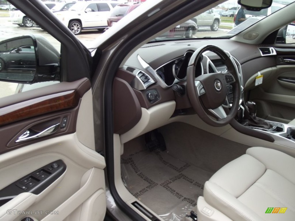 Shale Brownstone Interior 2012 Cadillac Srx Performance Photo 63186412