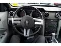 Light Graphite 2006 Ford Mustang V6 Deluxe Convertible Dashboard