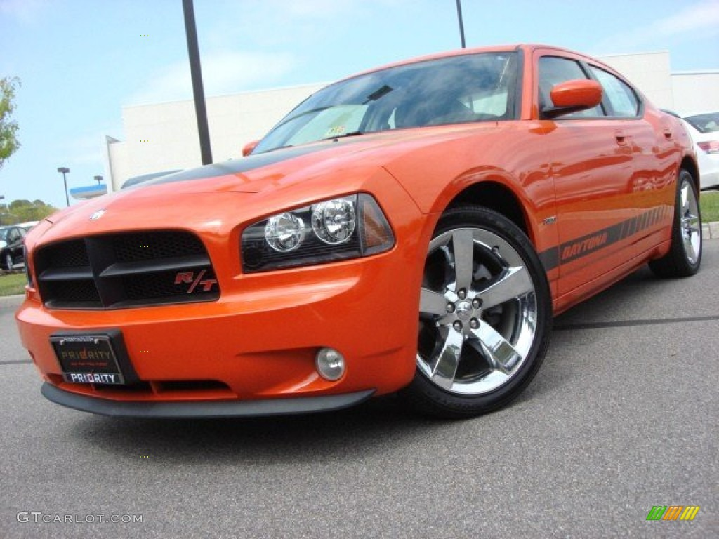 2008 Charger Rt >> 2008 Hemi Orange Pearl Dodge Charger R T Daytona 63169678