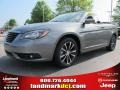 Tungsten Metallic 2012 Chrysler 200 S Hard Top Convertible