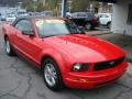 2007 Torch Red Ford Mustang V6 Premium Convertible  photo #2