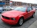 2007 Torch Red Ford Mustang V6 Premium Convertible  photo #4