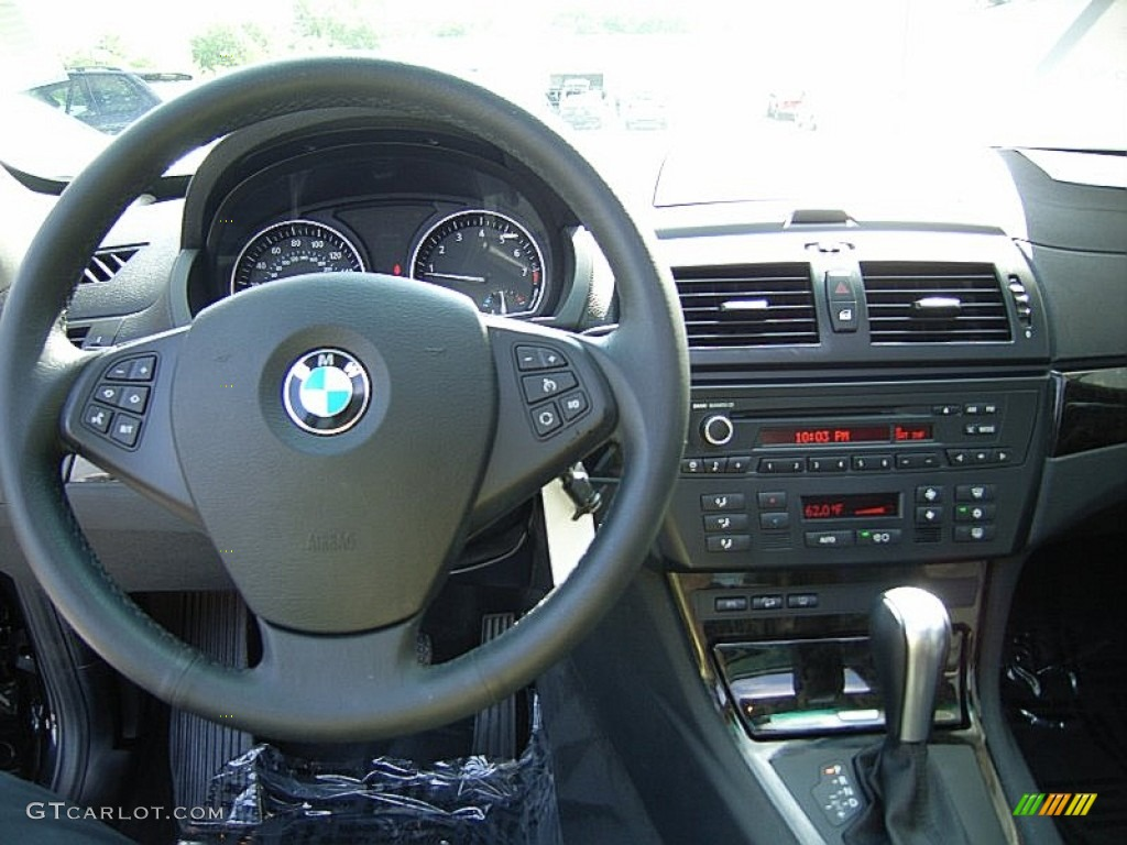 2009 BMW X3 XDrive30i Black Dashboard Photo 63212562