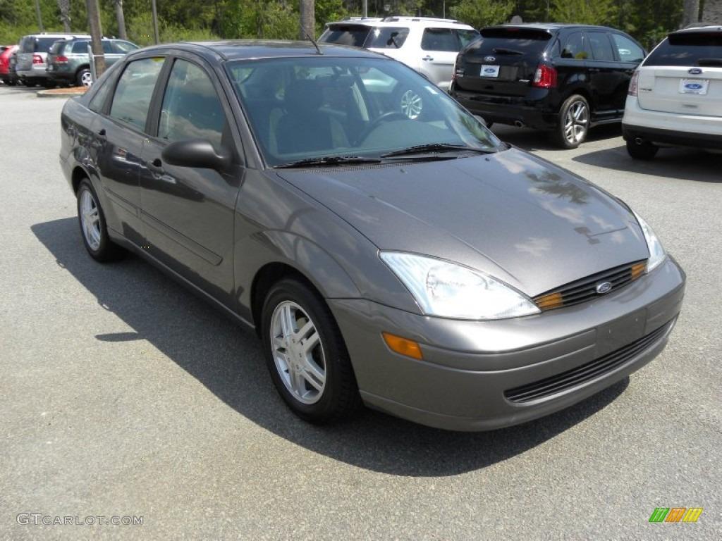 Liquid grey metallic 2002 ford focus se sedan exterior photo 63215055