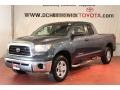 2009 Slate Gray Metallic Toyota Tundra Double Cab 4x4  photo #1