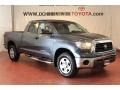 2009 Slate Gray Metallic Toyota Tundra Double Cab 4x4  photo #4
