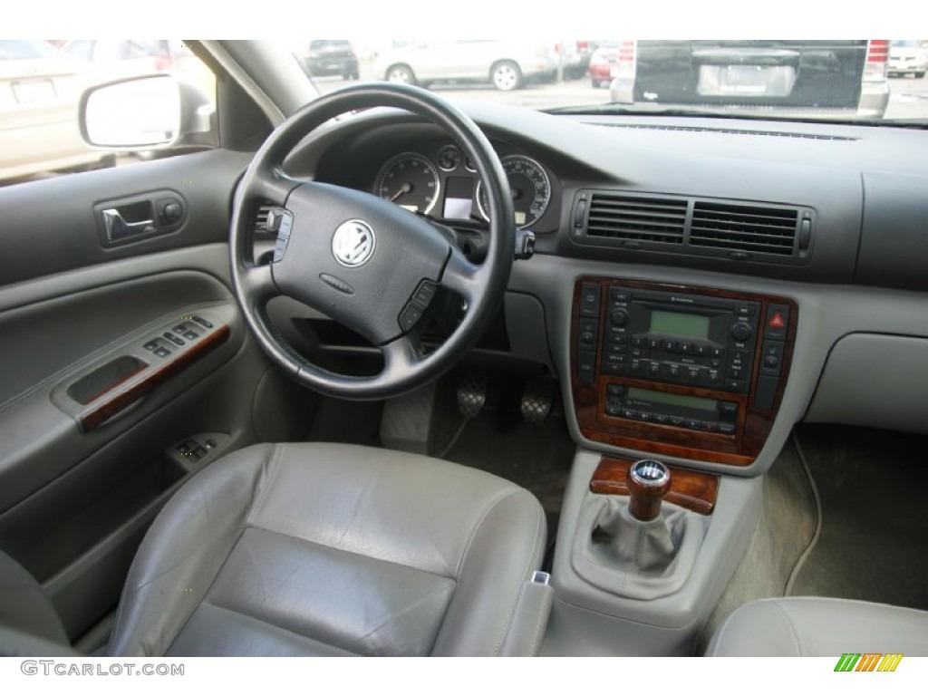 2002 Silverstone Grey Metallic Volkswagen Passat Glx Sedan 63200544 Photo 15