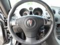 2008 Pontiac Solstice Ebony/Sand Interior Steering Wheel Photo