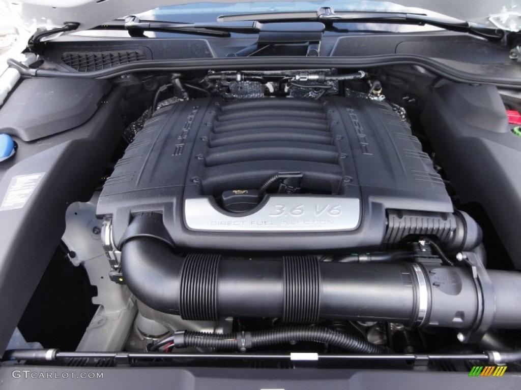 2017 Porsche Cayenne Standard Model 3 6 Liter Dfi Dohc 24 Valve Vvt V6 Engine Photo 63229011